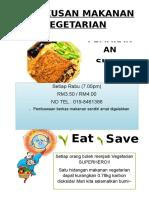 Poster Vegetarian Malay