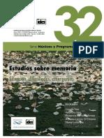 Cuadernos Del IDES 32 2016