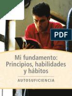Autosuficiencia - Mi Fundamento