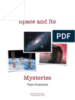 Space & Its Mysteries Summary