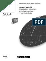 Sepam S80 (Instalacion y puesta en servicio).pdf