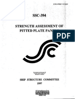 SSC-394 Strength Assessment of Pitted Plate Panels.pdf