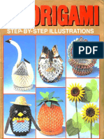 3D ORIGAMI STEP BY STEP ILLUSTRATIONS #1