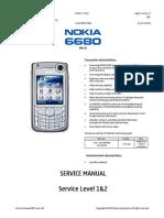 Nokia 6680 - RM-36 - Service Manual - Level 1 2