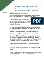 Zetec Rocam Aquecimento Válvula Travada_!