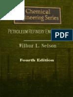 Petroleum Refinery Engineering, Fourth Edition