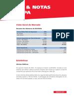 Dados e notas Bovespa