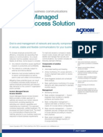 IT Managed Secure Access - Fact Sheet