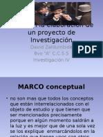 Pasos en La Elaboración de Un Proyecto De investigacion
