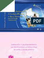 Manual de operación y mantenimiento de sistemas de agua segura