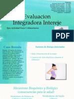 Evaluacion Integradora Intereje Actividad Fisica Alimentacion