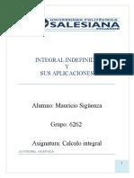Aplicacion de Las Integrales Indefinidas-1