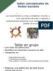 Generalidades Conceptuales Red Social
