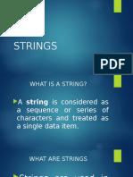 ICT Strings