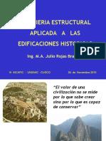 INGENIERÍA ESTRUCTURAL APLICADA   A   LAS EDIFICACIONES HISTÓRICAS