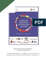 1_ Jornada Nacional de Estudios Eslavos - 2da  Circular.pdf
