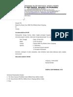 Surat Undangan Orang Tua PSG 2015