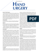 Jurnal on Hand Surgery
