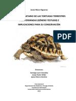 ESTUDIO SANITARIO DE LAS TORTUGAS TERRESTRES MEDITERRÁNEAS (GÉNERRO TESTUDO) E IMPLICACIONES PARA SU CONSERVACIÓN