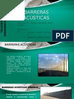 BARRERAS ACÚSTICAS
