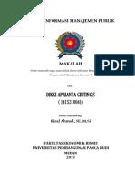 Sistem Informasi Manajemen Publik