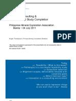 PMEA Mine Feasability Presentation Thompson