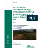 Jindal Processing ESIA DSR v0