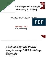 16c Masonry Wall Design ASD Example