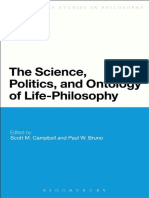 (Bloomsbury Studies in Continental Philosophy) Scott Campbell, Paul W. Bruno (Eds.)-The Science, Politics, And Ontology of Life-Philosophy-Bloomsbury Academic (2013)