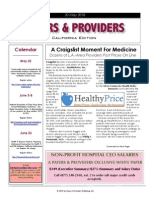 Payers & Providers – Issue of May 20, 2010
