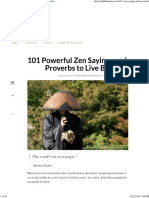 101 Powerful Zen Sayings and Proverbs - Buddhaimonia