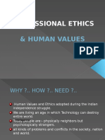 Ss Professional Ethics & Human Values Ppt by Smita Patle