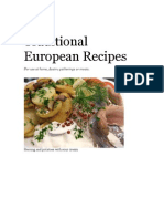 Traditional European Recipes