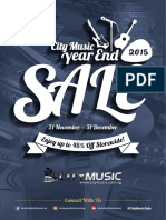 City Music Sale 2015