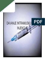 22 Cjelina Davanje Intramuskularne Injekcije
