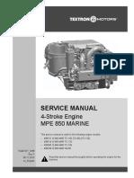 MPE 850 marine Service Manual