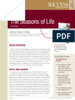 Seasons of Life Summary