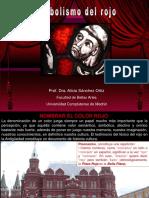 Historia simbólica  del rojo