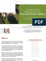 Neuropsychology in Epilepsy Summer School_flyer