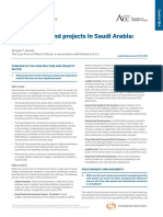 Construction Projects Overview - Law in KSA