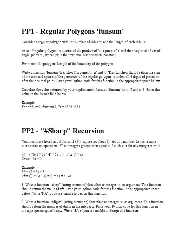 Practice Problems | Pi | Function (Mathematics)