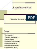 CO2 Liquefaction Plant