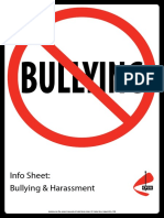 Bullying Info Sheet1