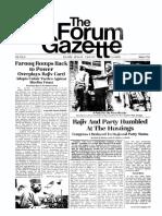 The Forum Gazette Vol. 2 No. 6 March 20-April 4, 1987