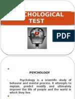 Hrm Psycology Test