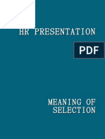 Meaning of Selection