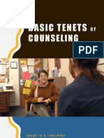 Basic Tenets of Counseling