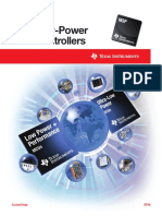 MSP Low-Power Microcontrollers Selection Guides Slab034ad