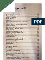 SUCCI Student Handbook - 2007/2008