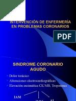 Intervención de Enfermería en Problemas Coronarios